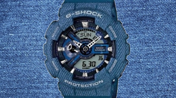 Denim G-Shock GA-110DC-2AER