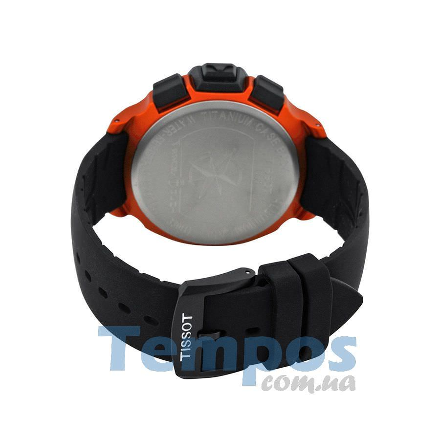 tissot t race touch orange них